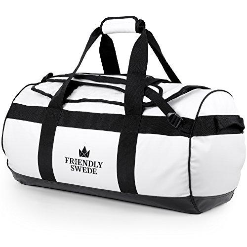 The Friendly Swede Wasserfeste Reisetasche - Duffle Bag Rucksack 30L / 60L / 90L - Seesack, Sporttasche