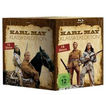 KARL MAY - GESAMTBOX [BLU-RAY] - 16 Filme - Alphamovies.de