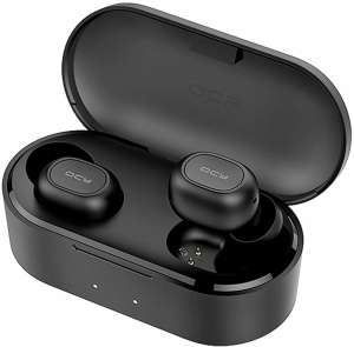 QCY T2C: TWS Kopfhörer (4h Akku, IPX4, 800mAh Ladebox, Geräuschunterdrückung)