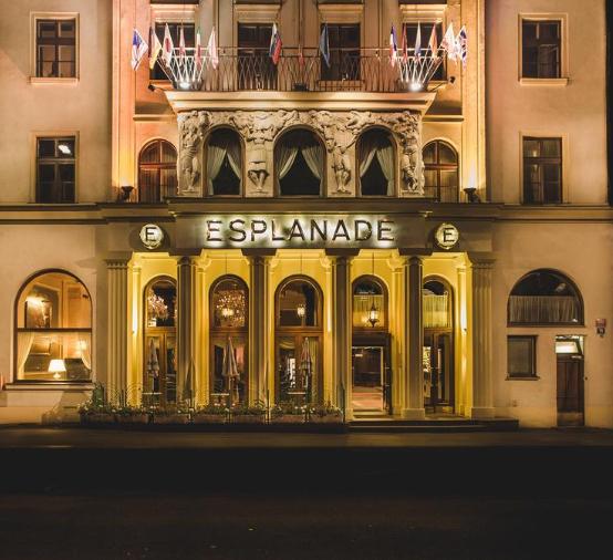 Prag: ( Nov-März / Juli ) Doppelzimmer im 5* Hotel Esplanade am Wenzelsplatz ab 89€ pro Nacht