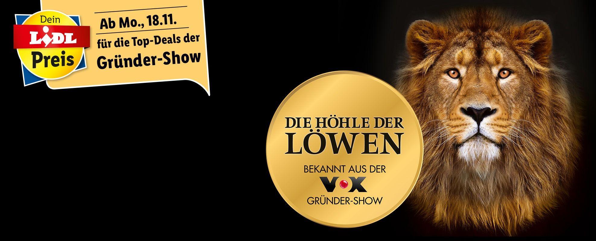 [Lidl offline/online] Die Höhle der Löwen - Top-Deals der Gründershow ab Montag, 18.11.