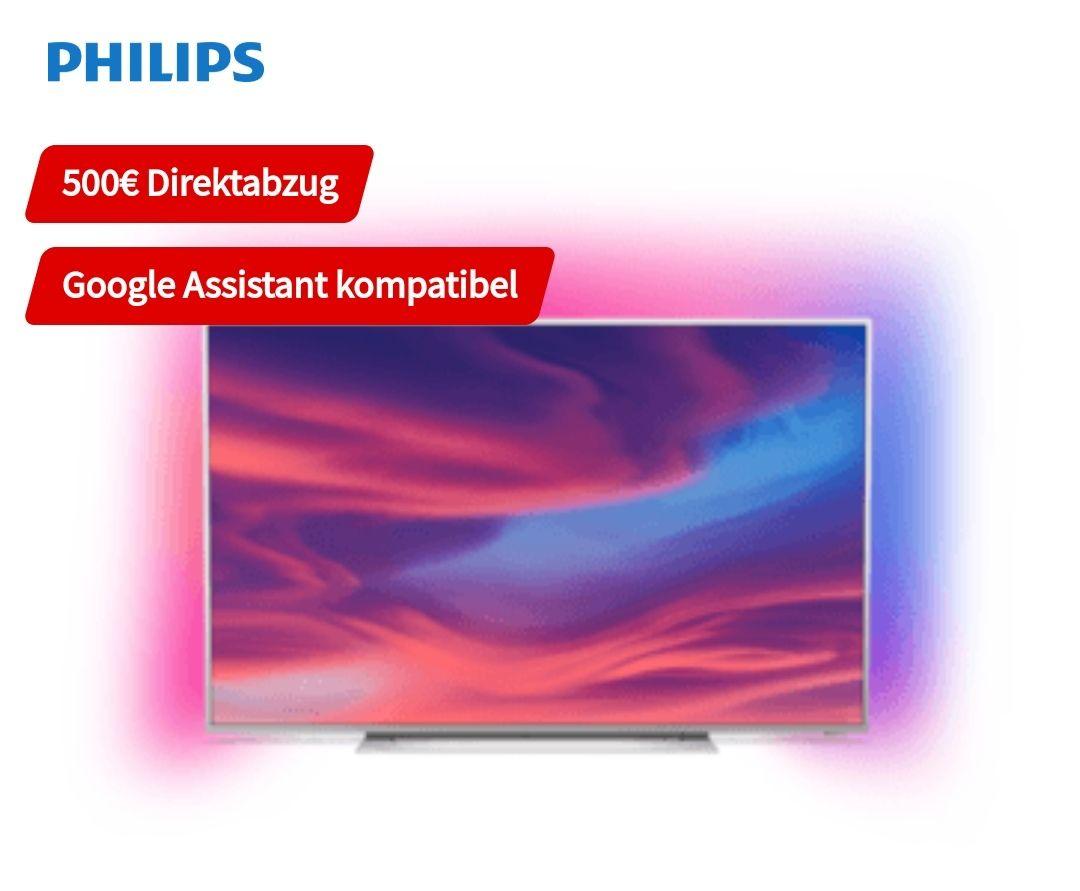 Philips 75PUS7354 Fernseher 4k Smart TV Ambilight