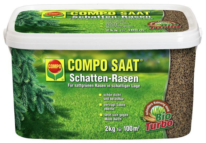 Compo Schatten-Rasen 2kg für 100m²