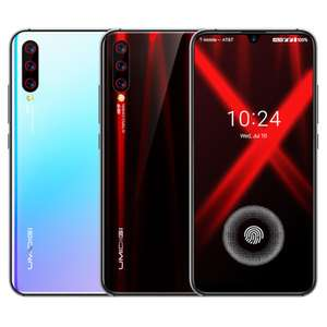 Umidigi X Smartphone 6.35 inch AMOLED 48MP Triple Rear Camera 4150mAh NFC 4GB 128GB Helio P60 Octa Core