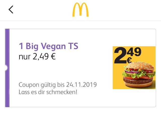 Big Vegan TS [App Coupon]