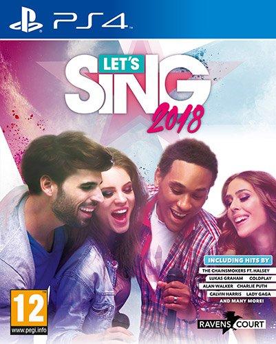 Let's Sing 2018 (PS4) + Mikrofon für 14,10€ (Amazon IT)