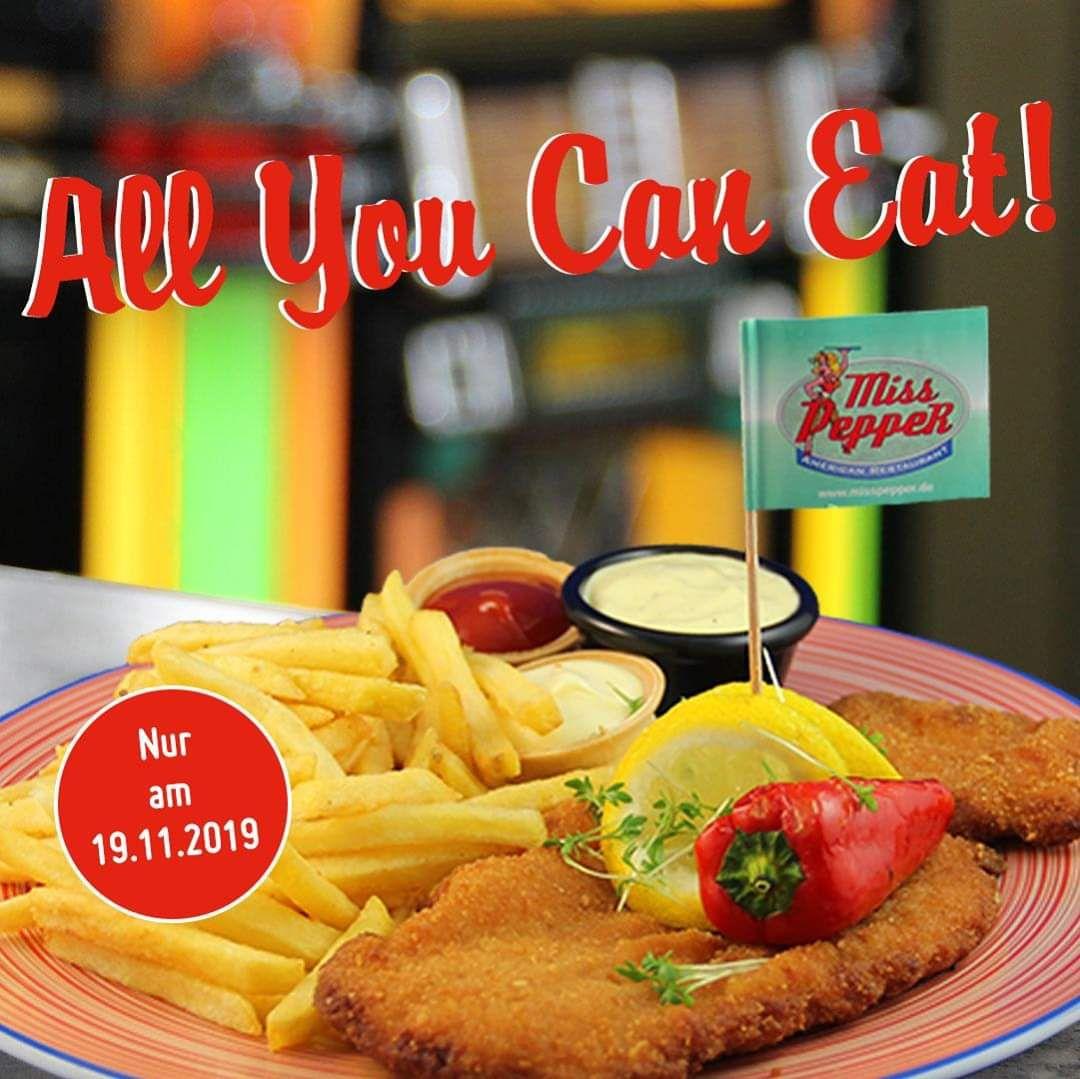 Miss Pepper Restaurants - All You Can Eat Schnitzel am 19.11