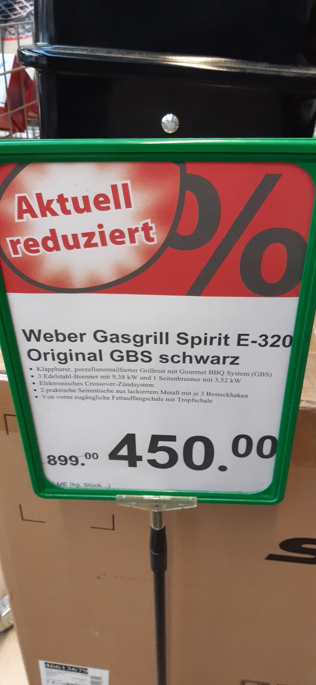 [lokal] Dehner Weber E-320 Original GBS Gasgrill