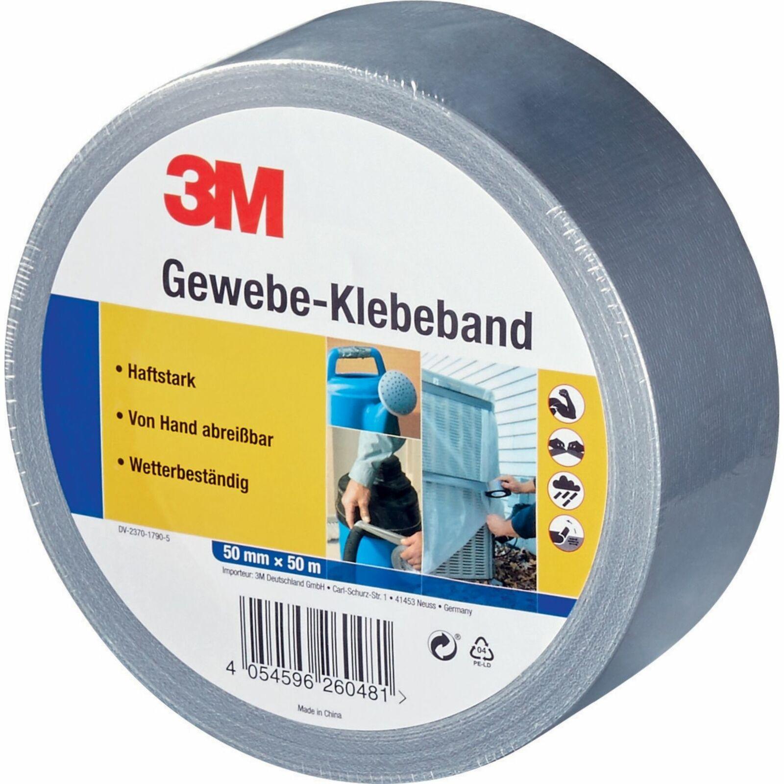 3M Gewebe-Klebeband / 3M Verpackungs-Klebeband für je 1,99€ [Netto MD]