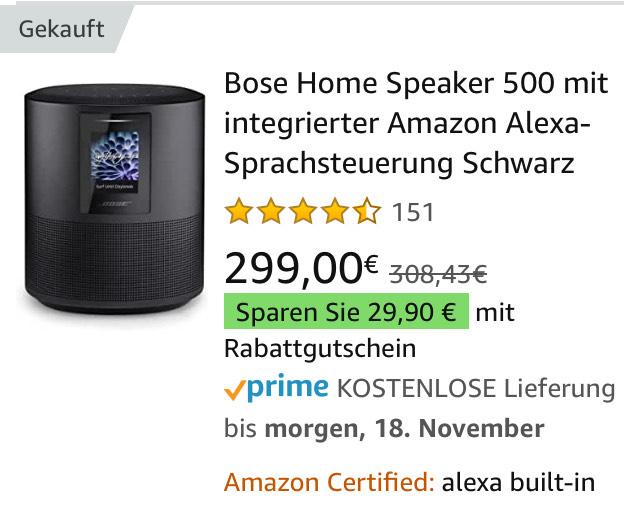 Bose 500 Home Speaker