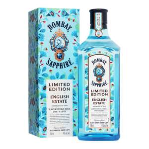 Bombay Sapphire London Dry Gin | English Estate | 0,7l 41% bei [Trinkgut - regional] ab 18.11.