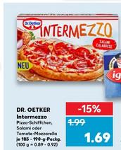 Kaufland - Dr Oetker Intermezzo mit - 0,50 Euro Gutschein