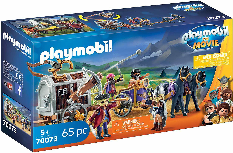 Playmobil The Movie - Charlie mit Gefängniswagen (70073) für 12.90€ (Amazon Prime)