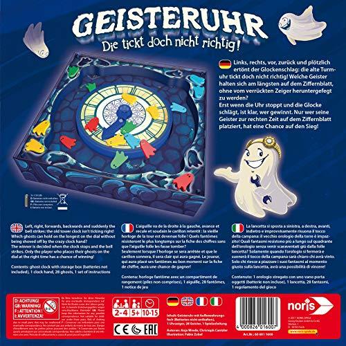 ( AMAZON PRIME ) Noris 606011600 Geisteruhr - die tickt doch nicht richtig, Kinderspiel Brettspiel