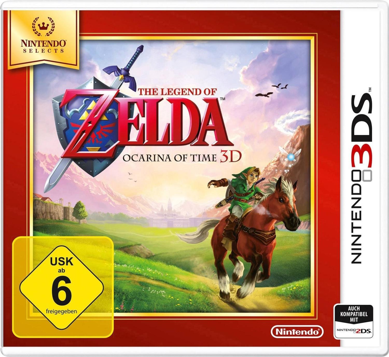 (mueller.de) Nur heute - 15 % Rabatt auf Nintendo 3DS-Spiele z. B. The Legend of Zelda - Ocarina of Time