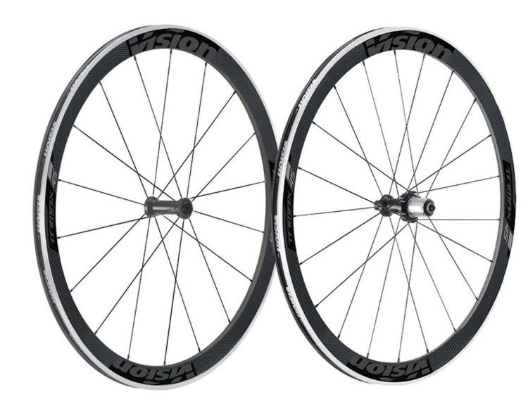 VISION TriMax Carbon 45 Shimano Laufradsatz Rennrad Triathlonrad