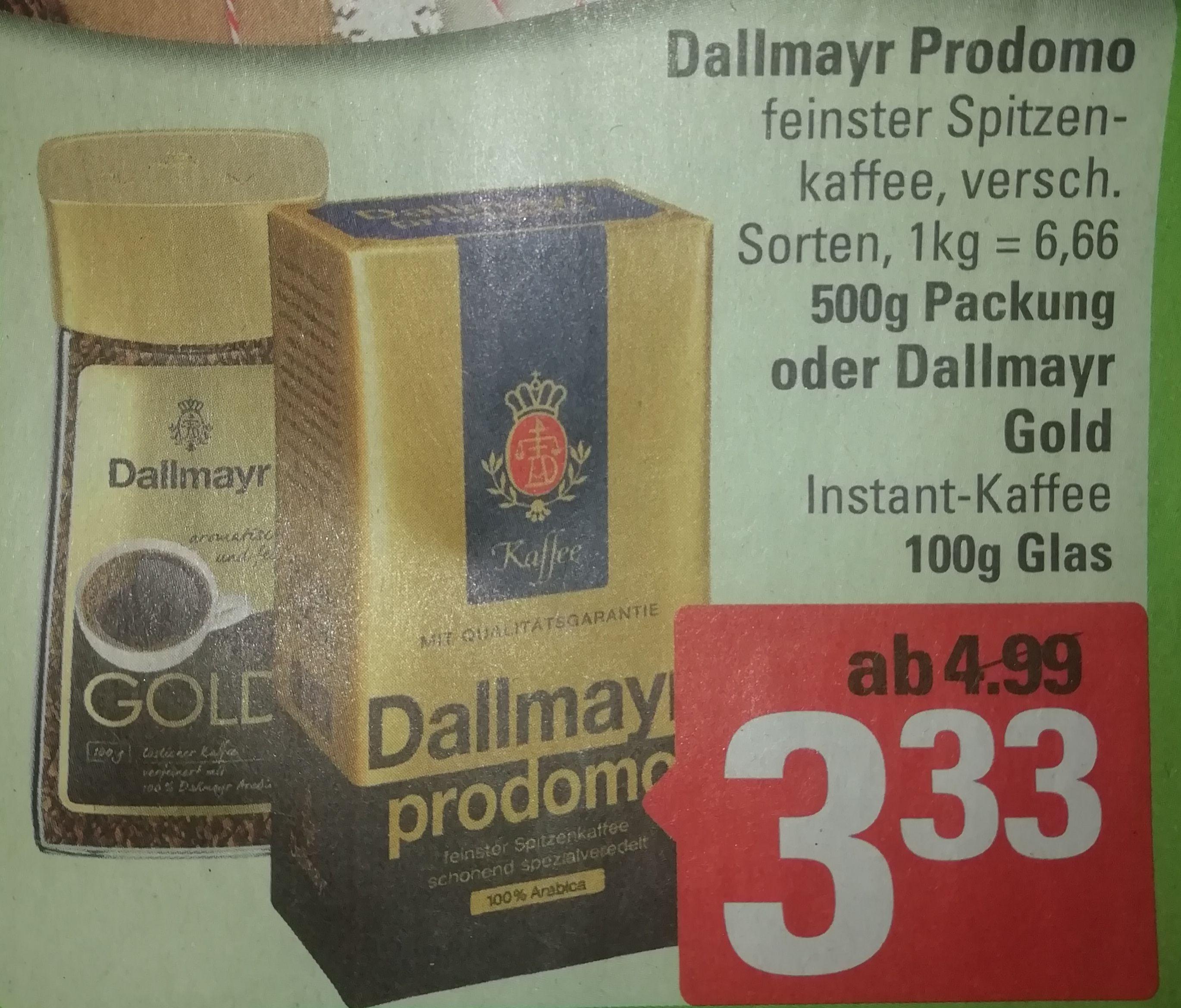 [Marktkauf Minden-Hannover] Ab 18.11, z.b. Dallmayr Prodomo für 2,33 Euro dank Coupon