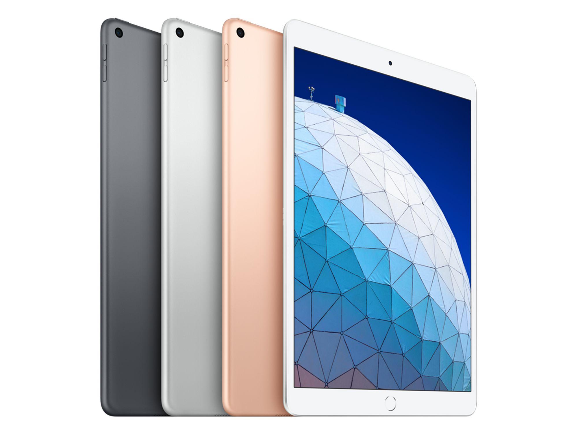 Apple iPad Air mit WiFi 64 GB, 2019, inkl. Smart Keyboard/Apple Pencil