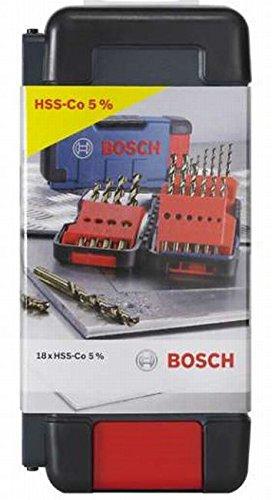 Bosch Tough Box HSS-Co 18-teilig 1-10 mm, Prime