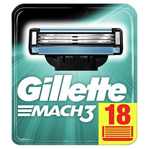[Amazon] Gillette Mach3 Rasierklingen 18er Pack (Sparabo für 21,84€ bzw. 19,54€ möglich)