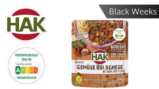 HAK Vegane Fertiggerichte 50% Cashback [Scondoo]