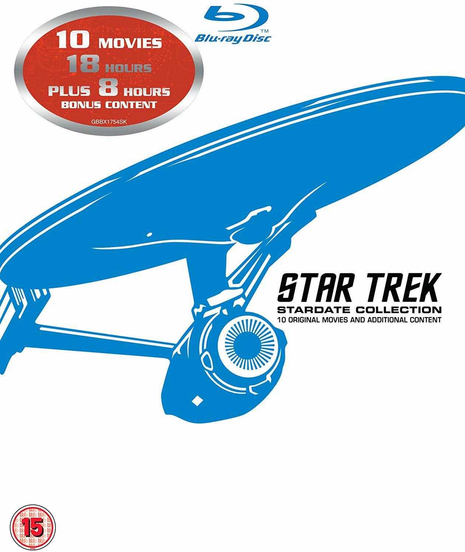 Star Trek - Collection Stardate (1-10, Blu-ray) für 18.92€ (Amazon UK)