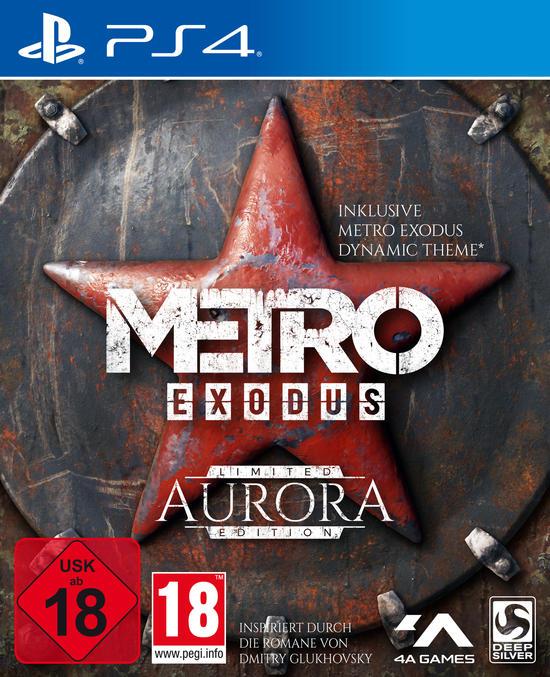 Metro Exodus Aurora Limited Edition (PS4) für 32,99€ (GameStop)