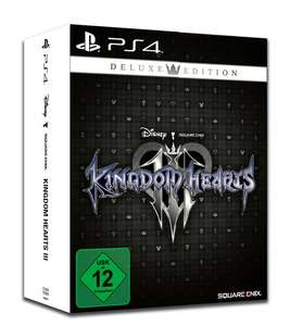 Kingdom Hearts III Deluxe Edition (PS4) für 29,99€ (GameStop)