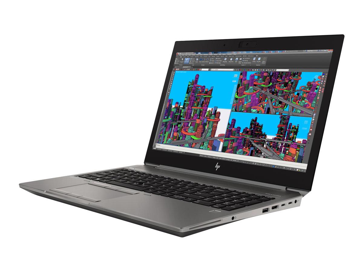 "[Easynotebook] HP ZBook 15 G5 -200€ Cashback, 15,6"" Full HD IPS, i7-8850H (6x2,6GHz; 12 Threads), 16GB DDR, 256 M2, Nvidia Qudro P1000 (4GB)"