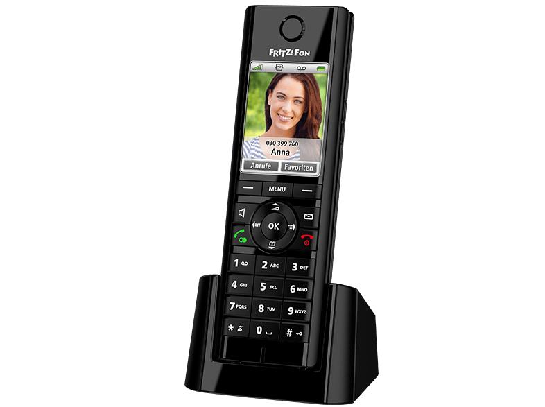 AVM FRITZ!Fon C5 DECT-Telefon Schwarz [NBB + Paydirekt]