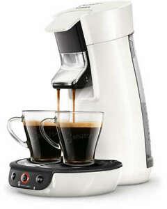 Philips Senseo Viva Café HD6563/09 (1450W, 1bar, 0.9l Wassertank, 2-Tassen-Funktion, doppelter höhenverstellbarer Kaffeeauslauf)