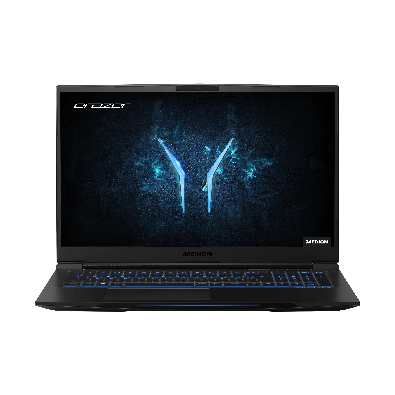 "ERAZER® X15803, Intel® Core™ i7-8750H, 39,6 cm (15,6"") FHD Display144 Hz, RTX 2060, 512GB SSD, 1TB HDD, 32GB RAM, Gaming Notebook"
