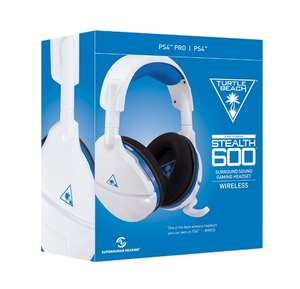 Turtle Beach Stealth 600 Kabellos Surround Sound Gaming-Headset PS4 & PS4 Pro (Weiß) für 49,99€ (GameStop)