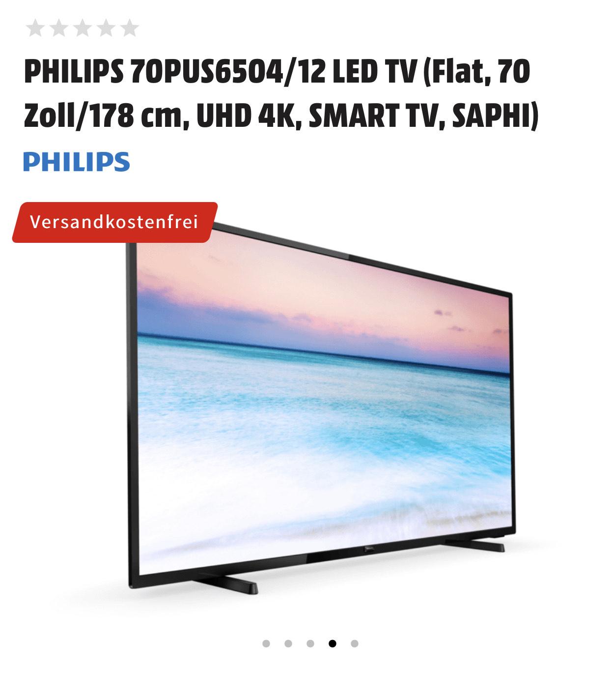 Philips PUS6504 70 Zoll, UHD 4K, Smart TV