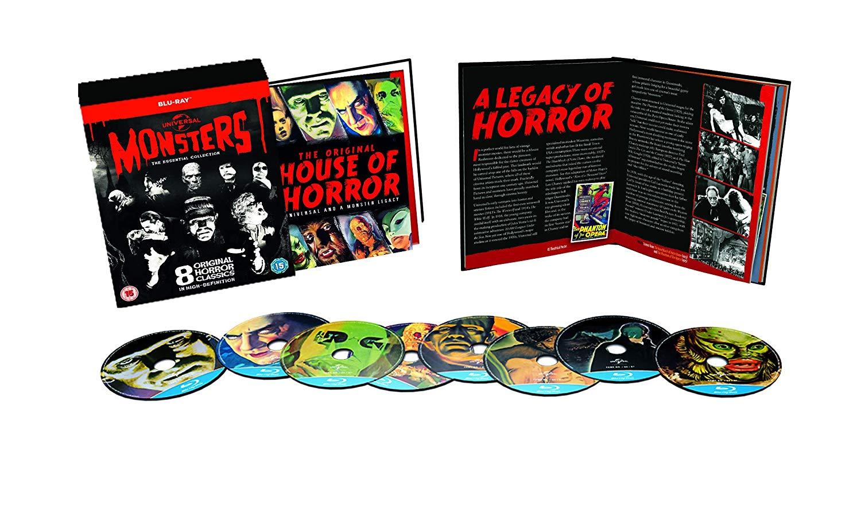 Universal Monsters Collection (8x Blu-ray) für 16€ (Amazon UK)