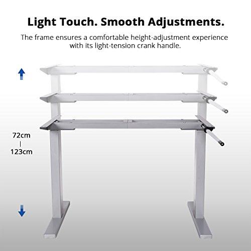 Höhenverstellbares Tischgestell