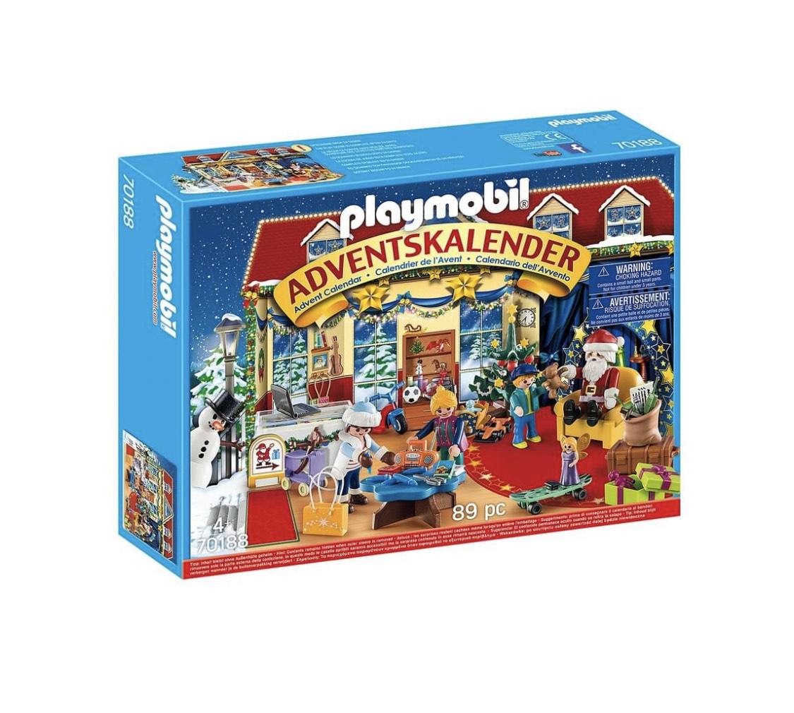 Playmobil Adventskalender Weihnachten im Spielwarengeschäft 70188 bei Real.de im Angebot - versandkostenfrei