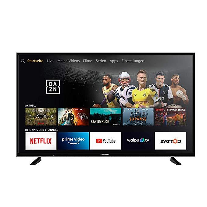 Grundig Vision 7 - Fire TV Edition 55 Zoll Ultra HD, Alexa-Sprachsteuerung, HDR