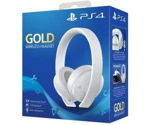 Sony PlayStation Gold Wireless Headsetwhite [SMDV]