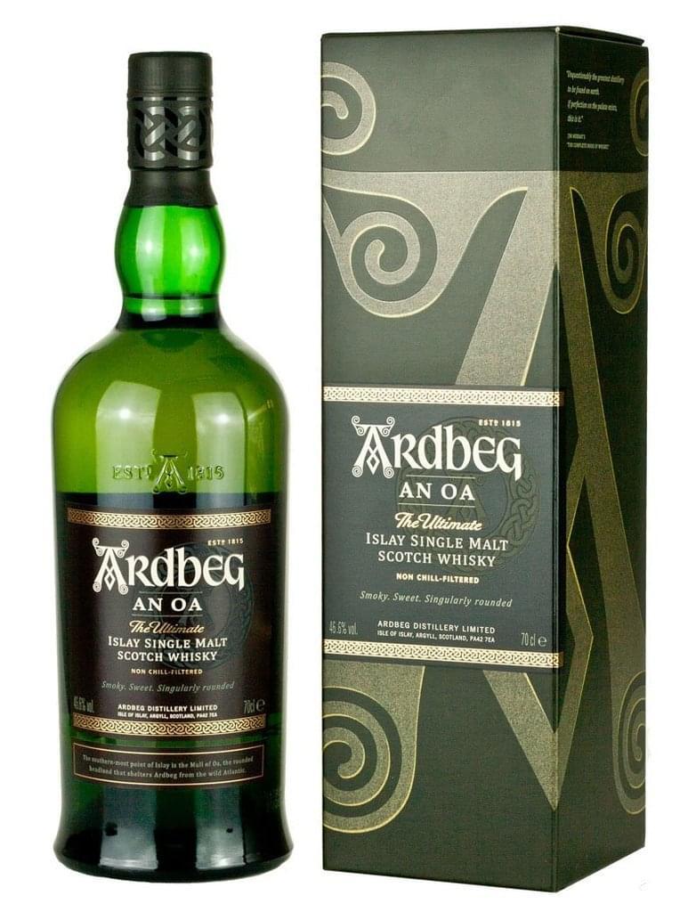 Wieder da: Ardbeg An Oa - Single Malt Whisky 0,7l 46,6% bei Real.de und Amazon