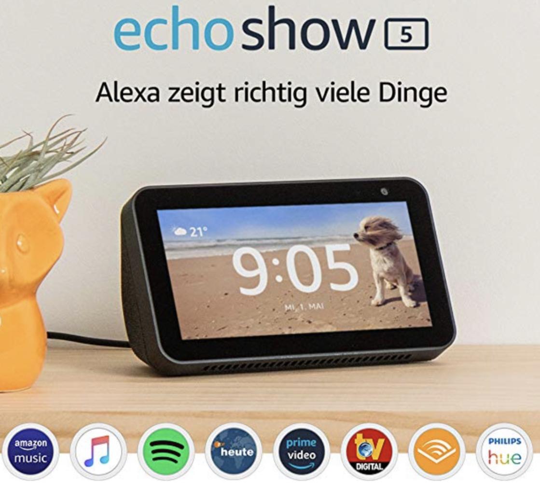 Amazon Echo Show 5 für 59,99€ oder Echo Input für 19,99€