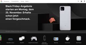 Black Friday Deal im Google Store bis zu 100€ Rabatt