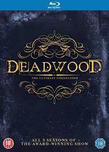 Deadwood Blu-ray Komplettbox Staffel 1+2+3 / Season 1-3 [in Deutsch und Englisch]