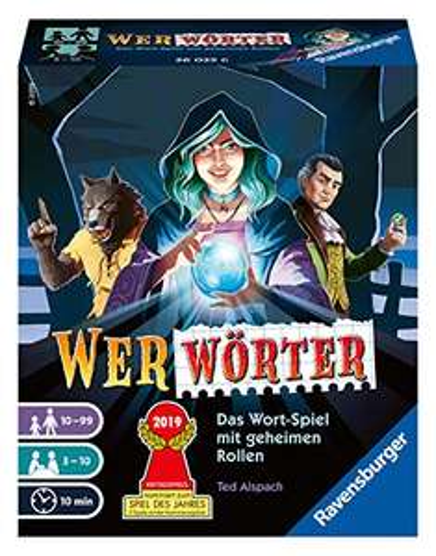( AMAZON PRIME) Ravensburger 26025 WERWÖRTER