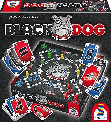 Schmidt Spiele 49323 Black Dog 10,79 schwarz und 49331 Dog blau 9,99 Prime