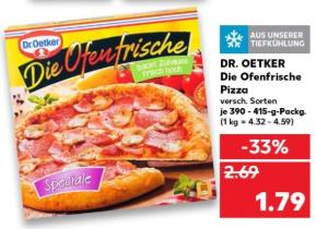 Die Ofenfrische im Angebot bei Kaufland [evtl. regional abweichende Preise, trotzdem immer noch TOP Preis!]