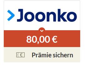 (Spartanien) 80€ Prämie für jeden KFZ-Versicherungswechsel über Joonko