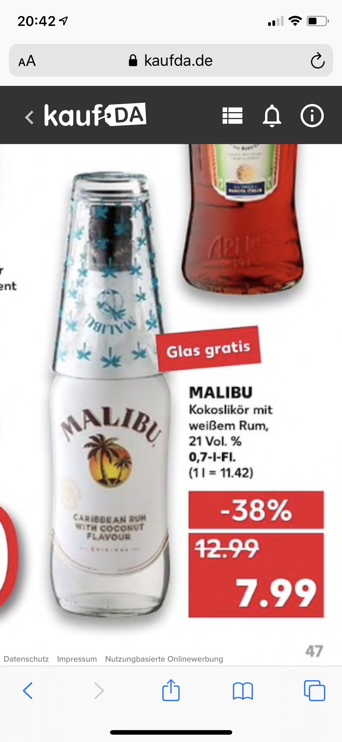Malibu [Lokal] bei Kaufland
