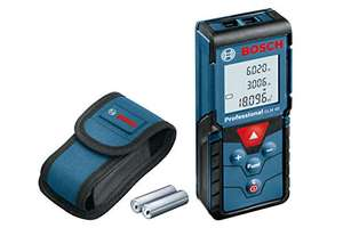 Bosch Professional GLM 40 Laser-Entfernungsmesser inkl. Schutztasche & Batterien [Amazon]