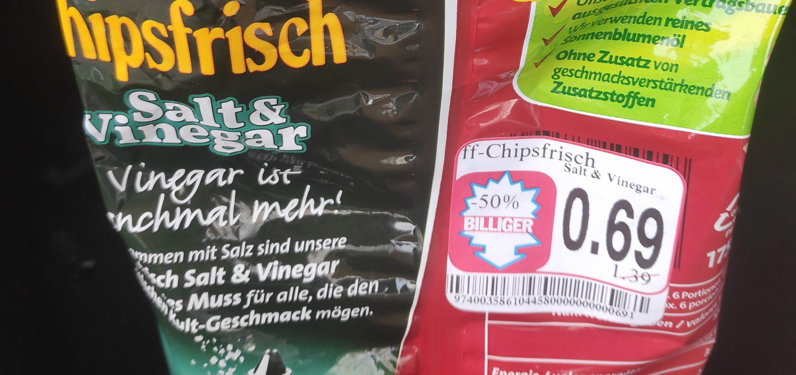 [Lokal Koblenz] Funny-Frisch Chips Salt & Vinegar MHD